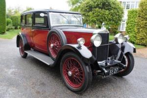 1932 Talbot AU14/45 Four-dr Weyman Panelled Saloon by Darracq