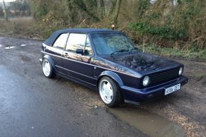 1992 VOLKSWAGEN GOLF GTI RIVAGE BLUE MOHAIR HOOD LOVELY CAR