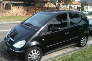 Mercedes Benz A160 LWB Elegance 2001 5D Hatchback 5 SP Sequential Manual in Burwood, NSW