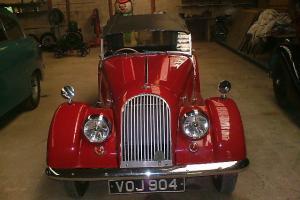Morgan +4 1956/7 coronation red