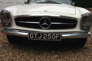 MERCEDES-BENZ 250 SL PAGODA AUTO 1967 WITH HARD AND SOFT TOP, RHD