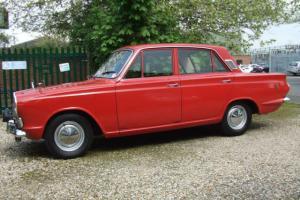 1966 Ford Cortina mk1 1500 GT Barn find