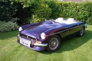 MGB Roadster - 1972 Chrome Bumper Osselli race engine