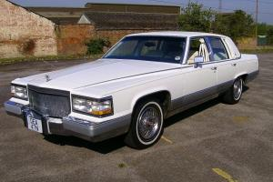 Immaculate Cadillac Brougham V8 just 46,600 miles Perfect Wedding Car