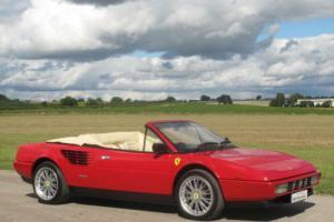 1988 E Ferrari Mondial 3.2 Cabriolet - Rosso Red / Crema