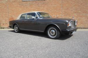 "1979 ROLLS ROYCE CORNICHE FHC ""LEFT HAND DRIVE"" Photo"