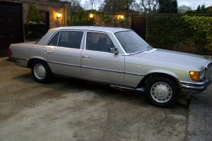 Classic, Mercedes 450 SEL, 1979, Silver, fully restored.