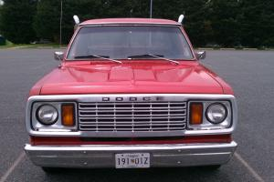 pickup, dodge, lil red, 1978, truck