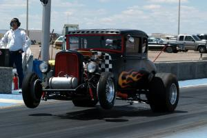 Rat traditional drag race street vintage custom NASCAR