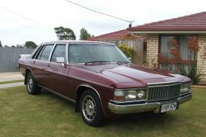 Holden Statesman DE Ville 1981 4D Sedan 3 SP Automatic 5L Carb