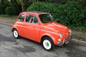 1970 Fiat 500 Tax Exempt Classic