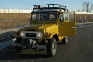 Rare Original 1977 Toyota FJ40 Land Cruiser W/Factory PTO Winch