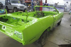 CONVERTIBLE, Factory Green, Painted Last Week