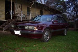 Mitsubishi Magna Executive 1996 4D Wagon 4 SP Automatic 2 6L Multi Point in Castlemaine, VIC