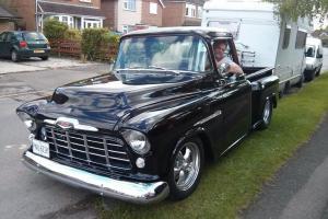 1955 Chevrolet Stepside Pickup Hotrod Classic American