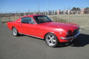 1965 Ford Mustang Fastback 289 V8 Manual
