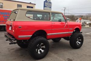 78 Scout II Lifted Truck 1 of a kind
