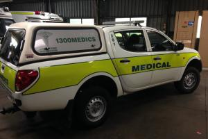 Mitsubishi Triton 2007 Dual CAB Trade Fitout EX Emergency Response Vehicle in Salisbury, QLD