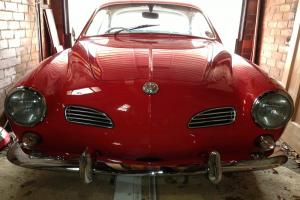 VW Volkswagen Karmann Ghia RHD Guards Red Excellent Condition