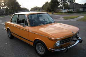 1973 2002 Tii Facotry Sunroof, 5 speed, Round TailLight (Roundie) Fuel Injected