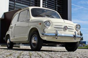 Lhd 1962 Fiat 600D (Fiat 750)