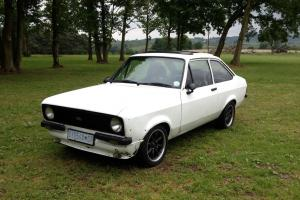 1979 FORD ESCORT 1600 SPORT MK2 WHITE, RESTORATION PROJECT, MEXICO, RALLY RS2000