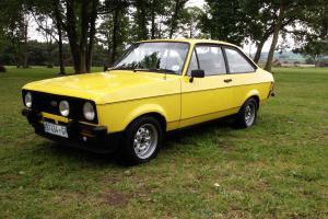 1980 FORD ESCORT 1600 SPORT MK2 SIGNAL YELLOW, ORIGINAL CONDITION. RALLY RS2000