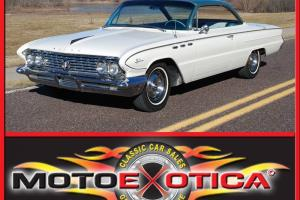 1961 LESABRE TWO DOOR, BUBBLE TOP, 81K ORIGINAL MILES, ORIGINAL SURVIVOR CAR