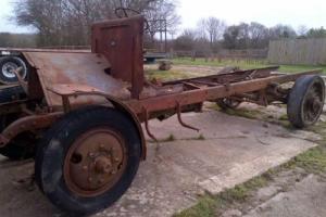 Pierce Arrow Truck 1916 WW1 2 Ton Model X2 for Restoration Very Rare