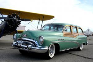 Buick 1953 Estate wagon Super restored