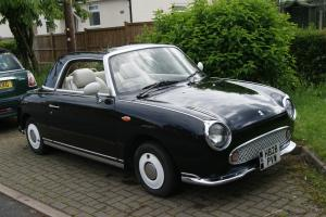 1991 Classic Nissan Figaro in black Photo