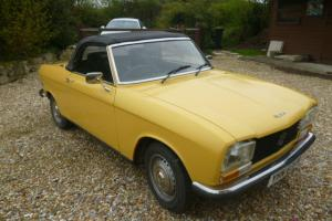 PEUGEOT 304 CONVERTIBLE WITH RARE HARDTOP.
