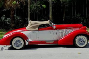 1936 AUBURN BOAT TAIL SPEEDSTER REPLICA ON FORD FORMAT