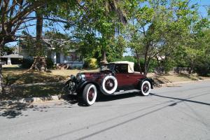 antique classic Deitrich coupe roadster convertible rum