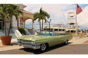 1964 Cadillac Coupe DeVille Convertible Photo