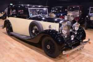 1938 Hooper 25/30 Sports Saloon with division. For Sale Photo