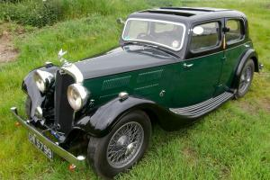 Triumph Gloria Vitesse ( very rare and pretty 30's sporting saloon )