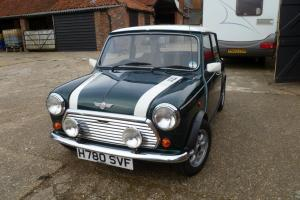 MINI Cooper, 1275cc, Green With White Roof, 1990, very original condition