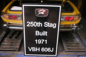 1971 J REG Triumph Stag MK1 3.0V8 MANUAL