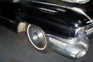 CADILLAC 1959  COUPE BLACK AND GREY 52000 MILES  STORED SINCE 1984ORIGINAL CAR