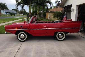 1966  Amphicar Partially Restored and ready for the water