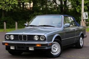 1989 BMW 325ic 325 E30 Convertible LOW MILES RARE Sport Package Garaged