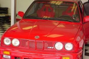 1989 BMW E30 M3 2.5L Turbo