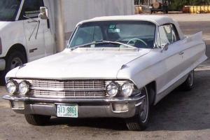 62 Cadillac De Ville Series 62 Convertible