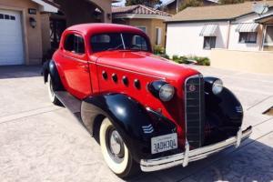 1935 LaSalle Coupe All Original Beautiful California Car
