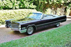 Absolutely pristine 1966 Cadillac Deville Convertible folks museum quality sweet