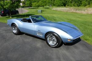 1969 Corvette Convertible 4 speed A/C New tires New Mufflers Posi Rear