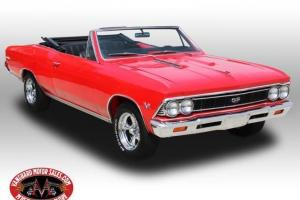 66 Chevelle 138 True SS Convertible 396 4 Speed Frame