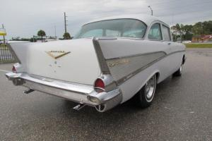 1957 Chevy, REAL Bel Air, 2 Door Post, V-8, 3 Speed Auto, Rally Wheels