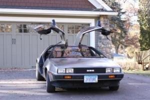 1981 DeLorean Automatic, Gas Flap, Excellent Condition, Upgraded at DMC